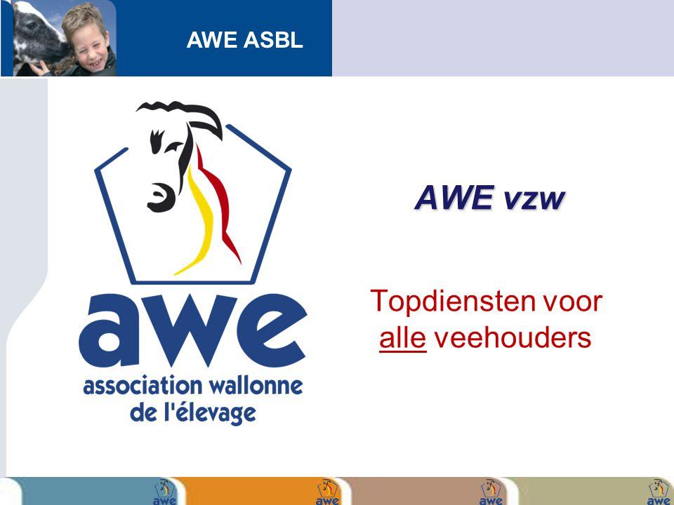 AWE ASBL AWE vzw Topdiensten voor alle veehouders