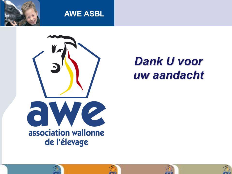 AWE ASBL Dank U voor uw aandacht
