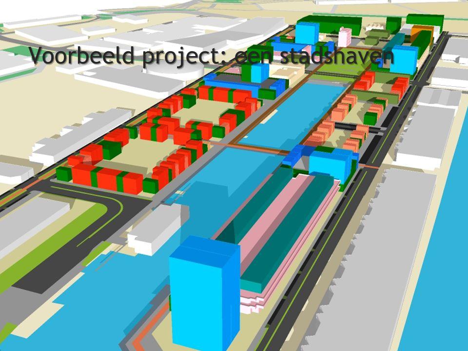 Voorbeeld project: een stadshaven