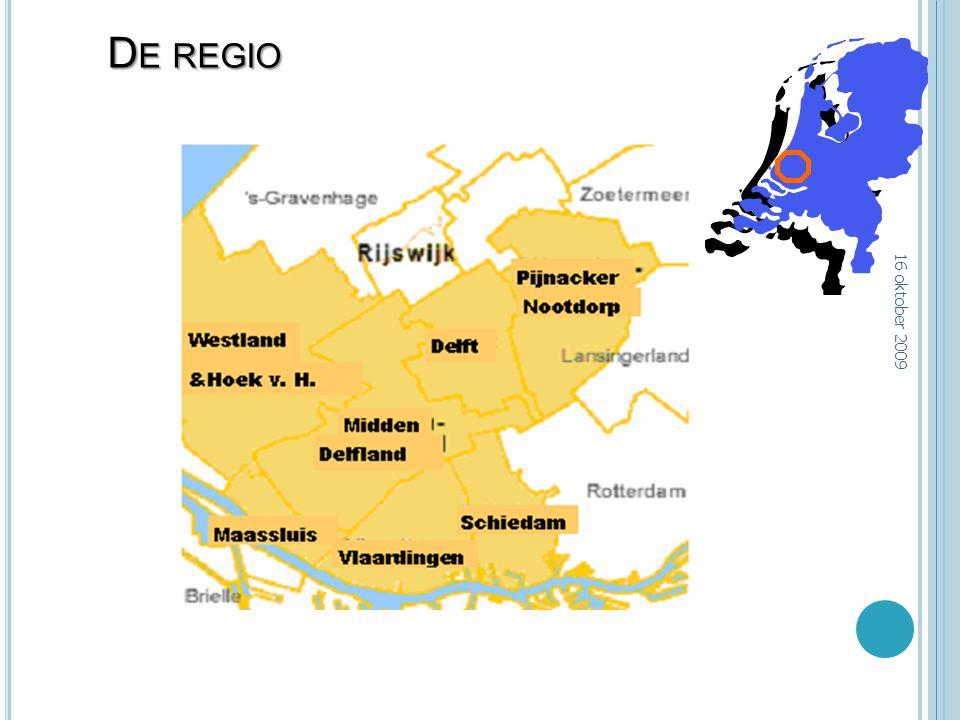 D E REGIO 16 oktober 2009