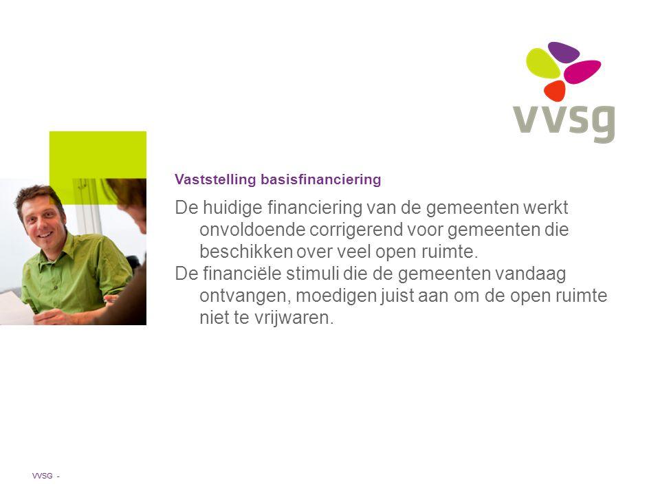 VVSG - De huidige financiering van de gemeenten werkt onvoldoende corrigerend voor gemeenten die beschikken over veel open ruimte.