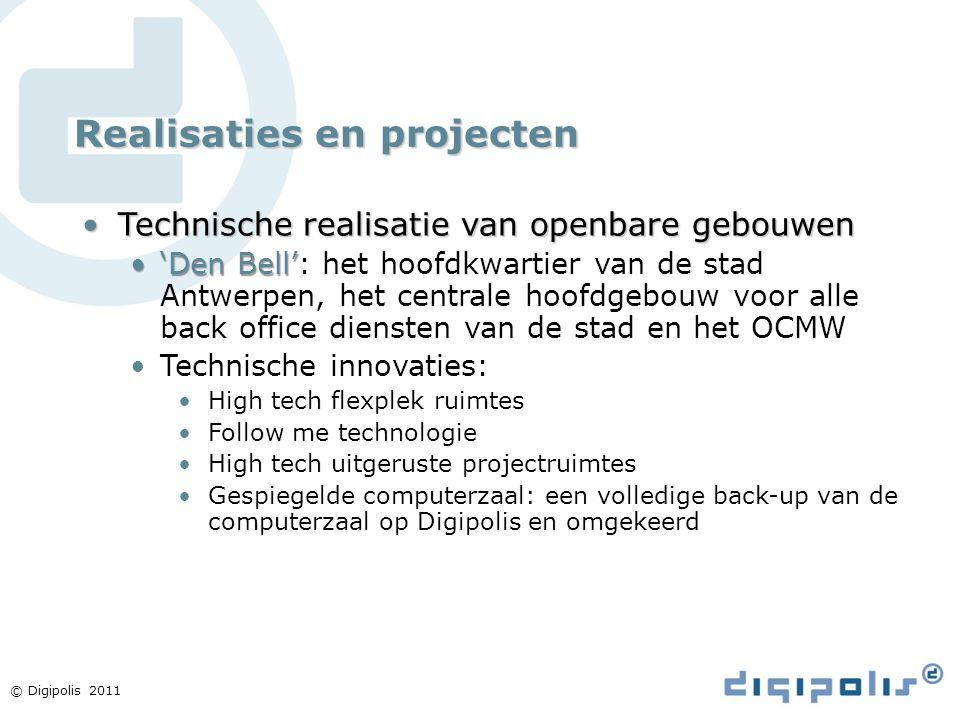 Realisaties en projecten Technische realisatie van openbare gebouwenTechnische realisatie van openbare gebouwen 'Den Bell''Den Bell': het hoofdkwartie