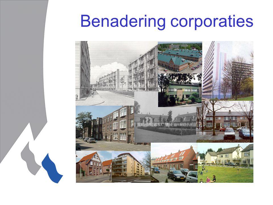 Benadering corporaties