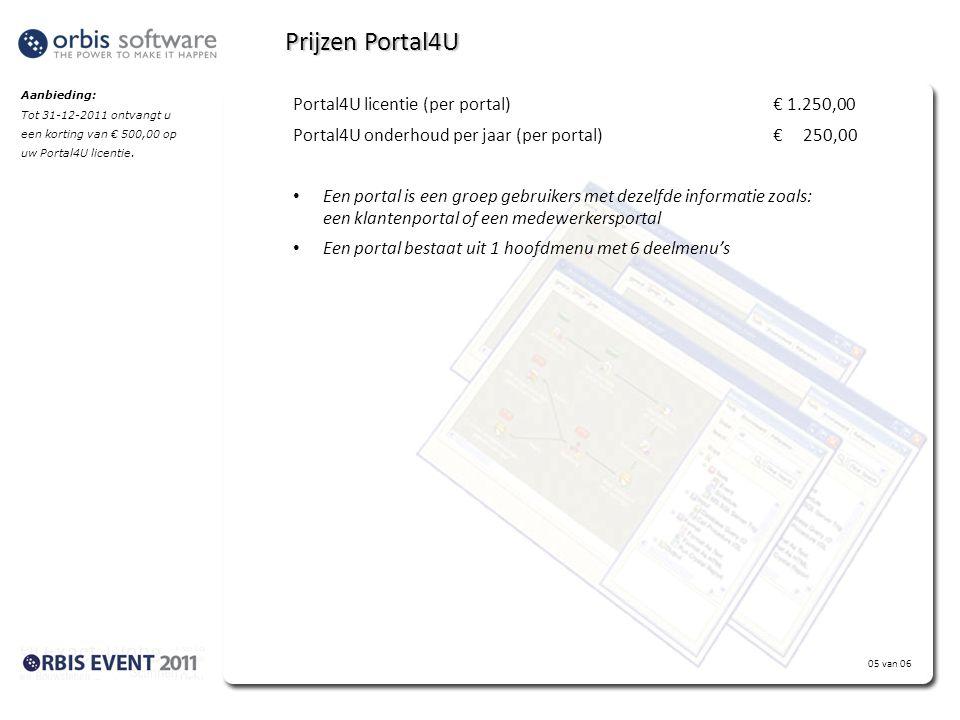 Statement klant: Portal4U was de ontbrekende schakel in mijn RMA procedure. Niet alleen kunnen mijn klanten een nieuwe RMA invoeren, maar ze kunnen oo