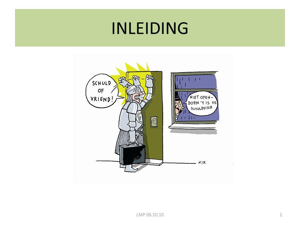 INLEIDING 2LMP 06.10.10
