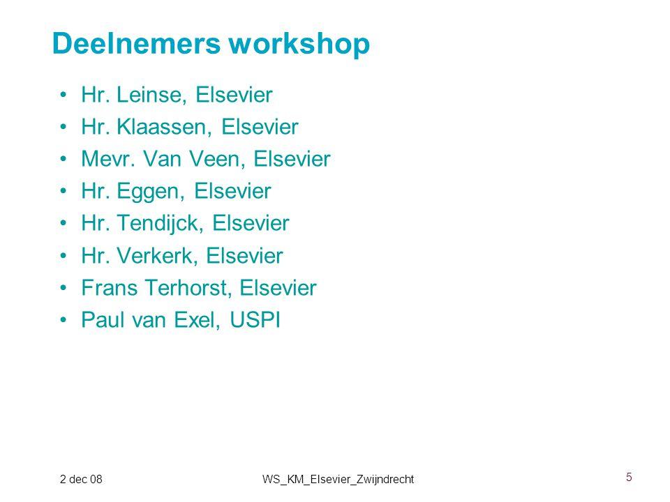 16 2 dec 08WS_KM_Elsevier_Zwijndrecht ISO15926-4 static equipment
