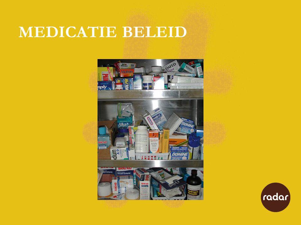 Protocol Radar 21-4-2009 Protocol uitzetten, beheer en verstrekken van medicatie 1-10-2009 t/m 6-9-2010 invoering nieuw medicatiedistributiesysteem