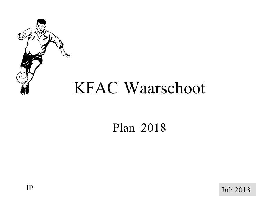 KFAC Waarschoot Plan 2018 JP Juli 2013
