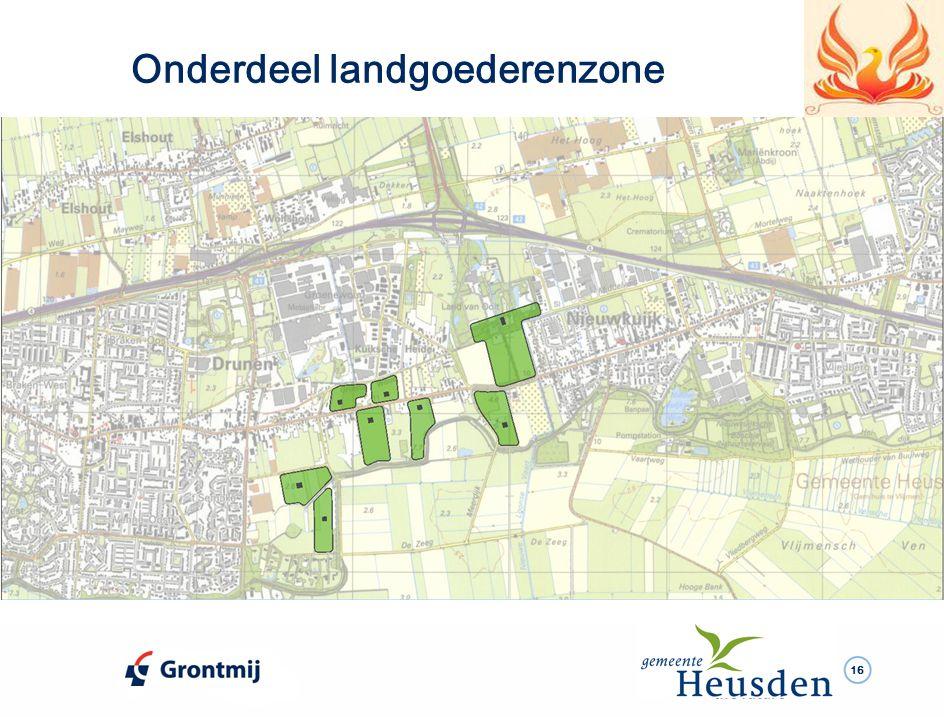 16 Onderdeel landgoederenzone