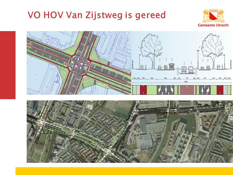 VO HOV Van Zijstweg is gereed
