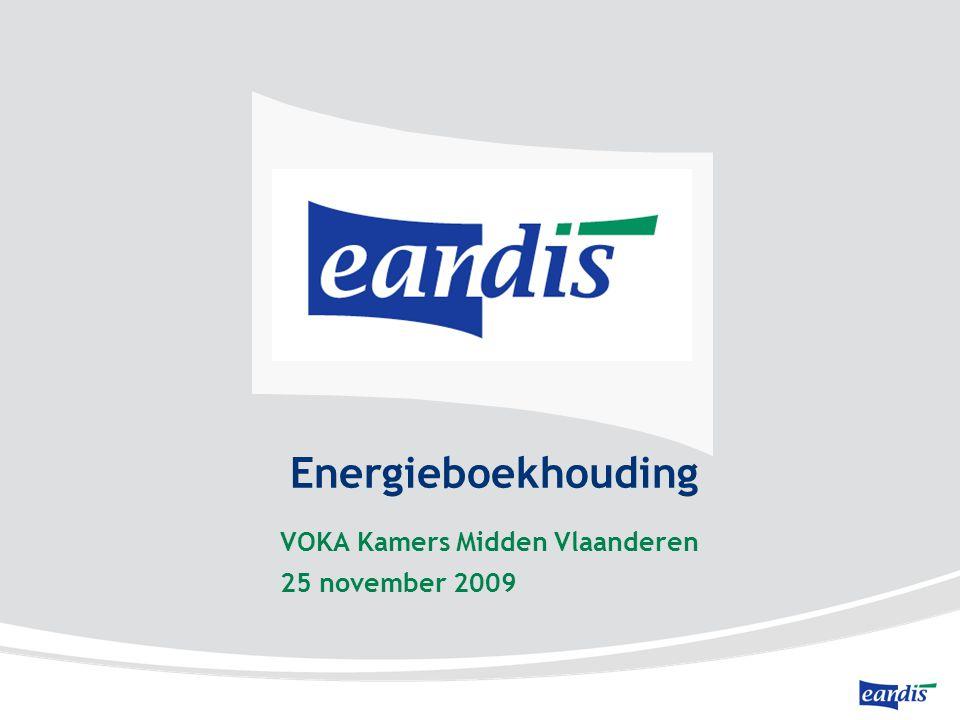 Energieboekhouding VOKA Kamers Midden Vlaanderen 25 november 2009