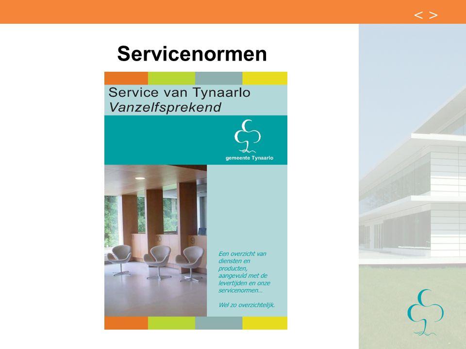 Servicenormen