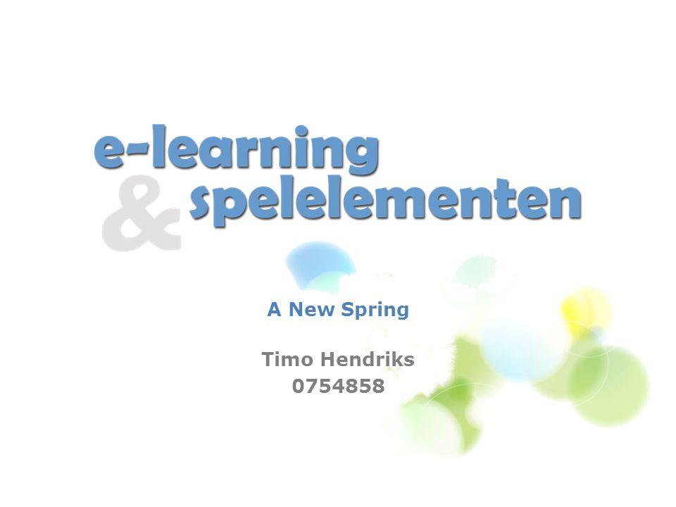 De opdracht Case A New Spring Cursus nu: