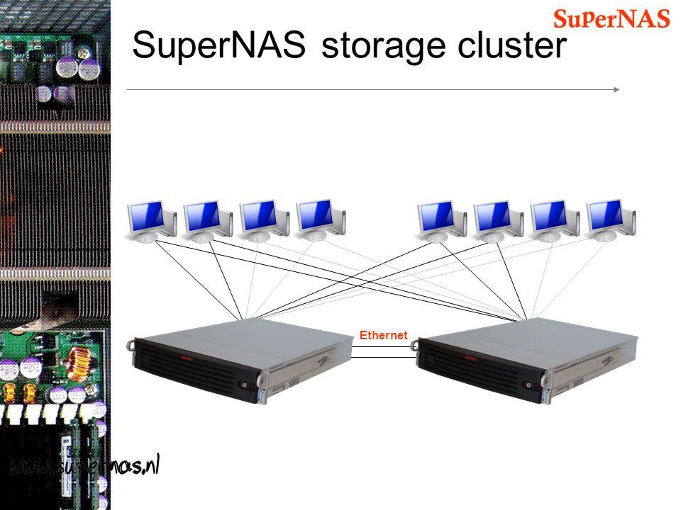 SuperNAS storage cluster Ethernet