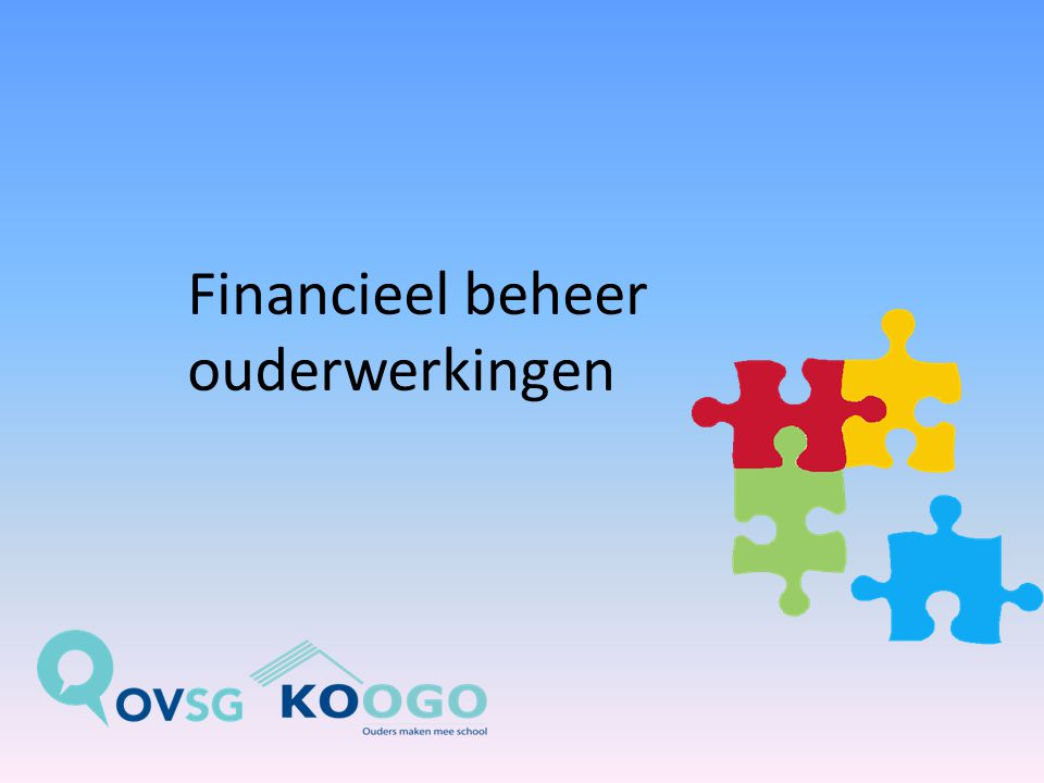 Financieel beheer ouderwerkingen