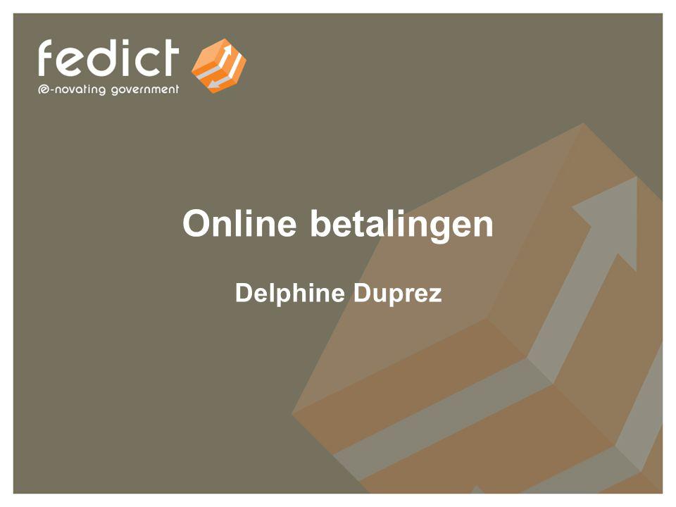 8 Online betalingen Delphine Duprez