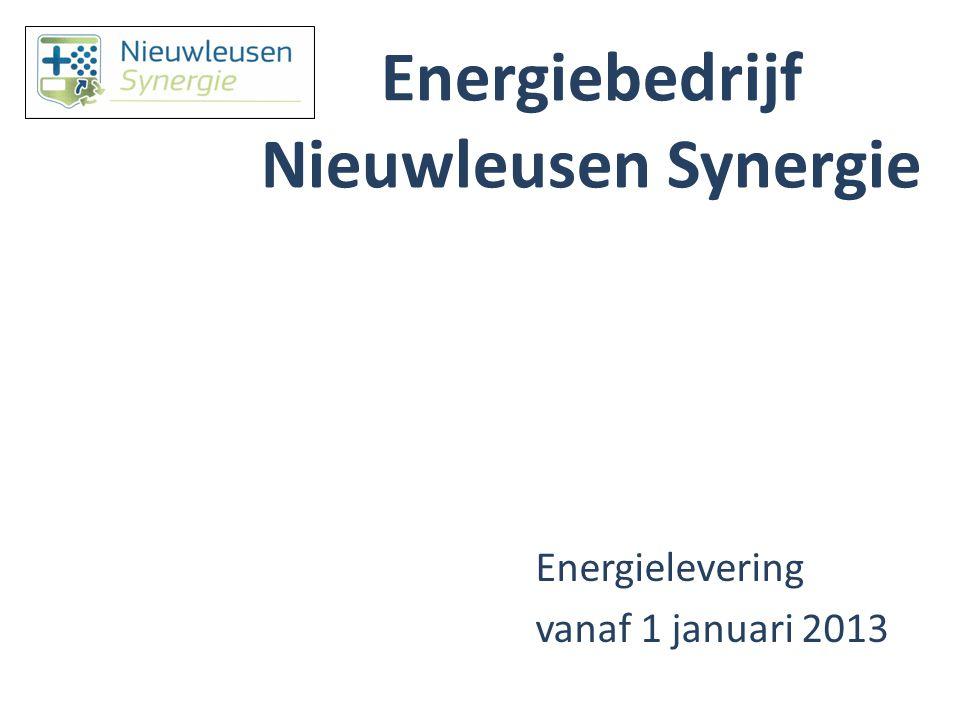 Waarom inkopen van het Energiebedrijf Nieuwleusen Synergie.