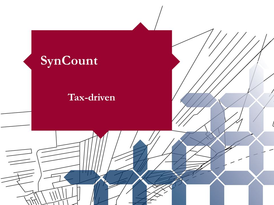 SynCount Tax-driven