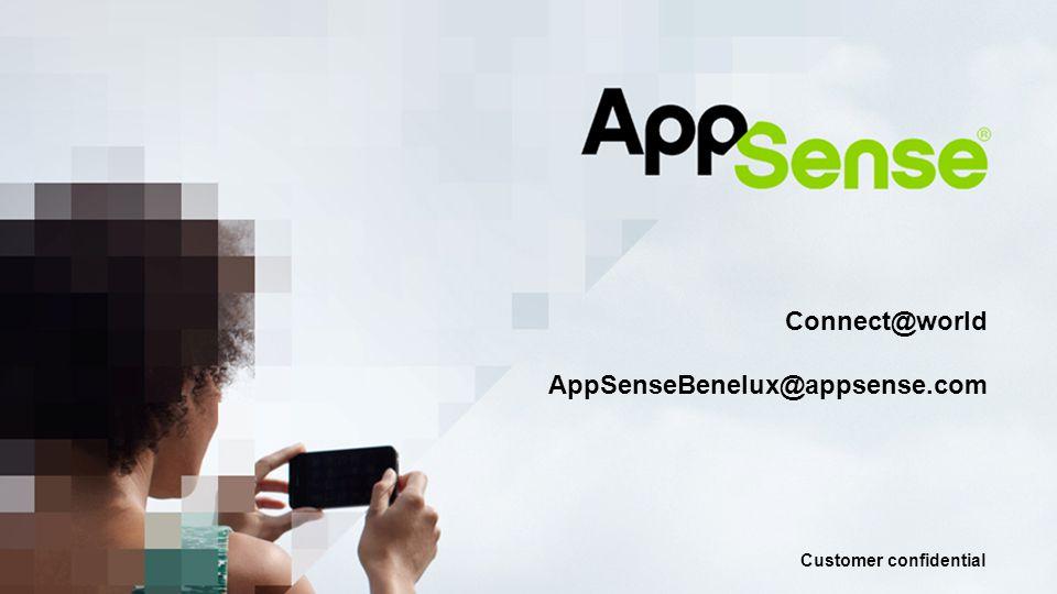 Customer confidential Mobiel OS Insluiten van applicaties en data Persoonlijke Apps Applicaties gedragen zich normaal in hun standaard OS omgeving.