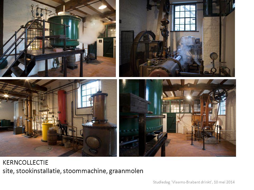 KERNCOLLECTIE site, stookinstallatie, stoommachine, graanmolen
