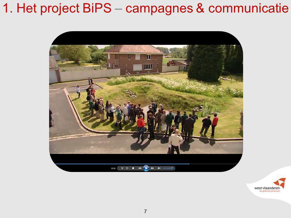 77 1. Het project BiPS – campagnes & communicatie