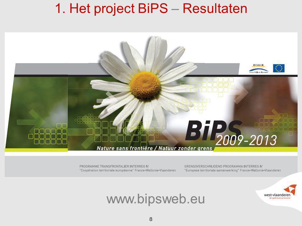 88 1. Het project BiPS – Resultaten www.bipsweb.eu
