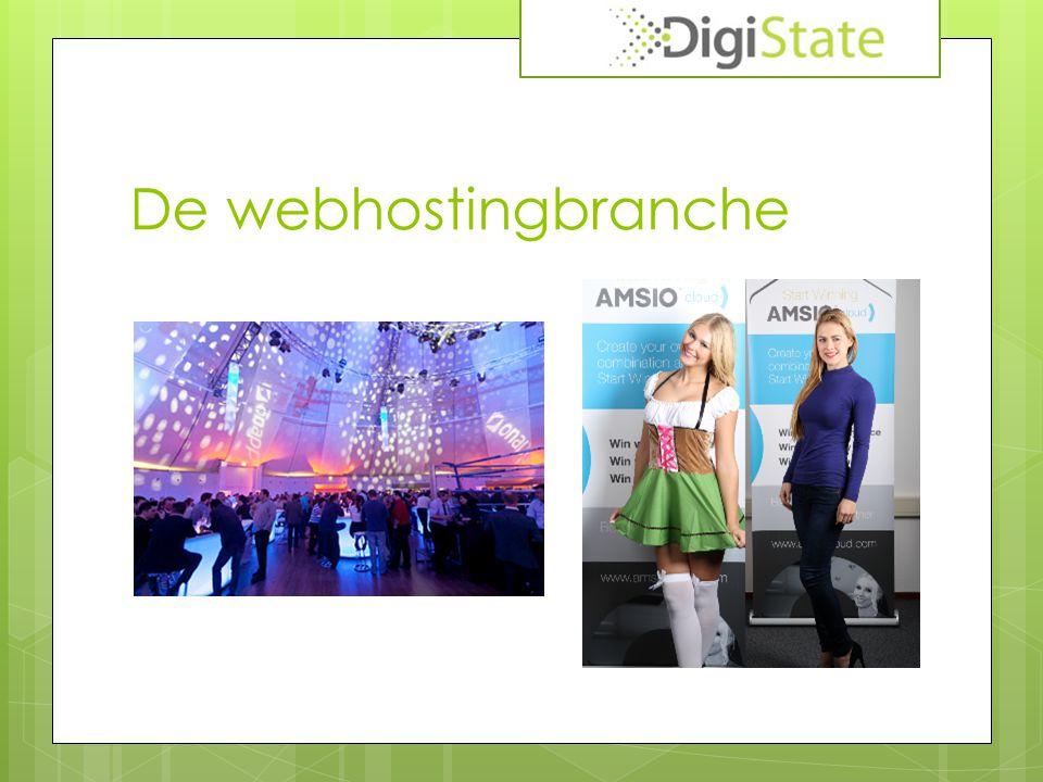 De webhostingbranche