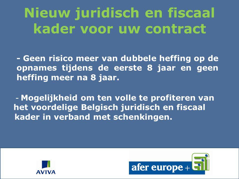 2011: Ee n nieuwe start voor AFER Europe dat een nieuwe naam krijgt: AFER Europe+ en de start van het Belgisch filiaal van Aviva Vie na de massale goe
