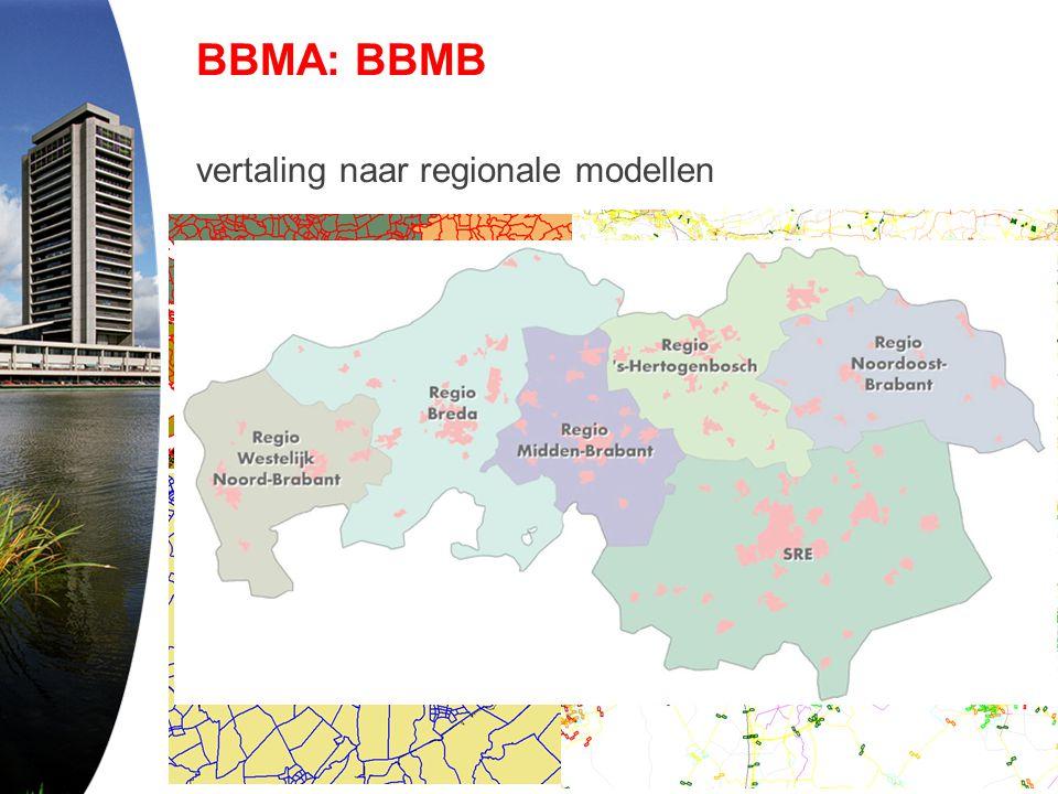 BBMA: BBMB vertaling naar regionale modellen