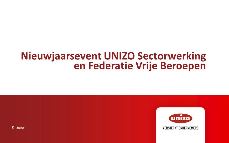 Nieuwjaarsevent UNIZO Sectorwerking en Federatie Vrije Beroepen © Unizo
