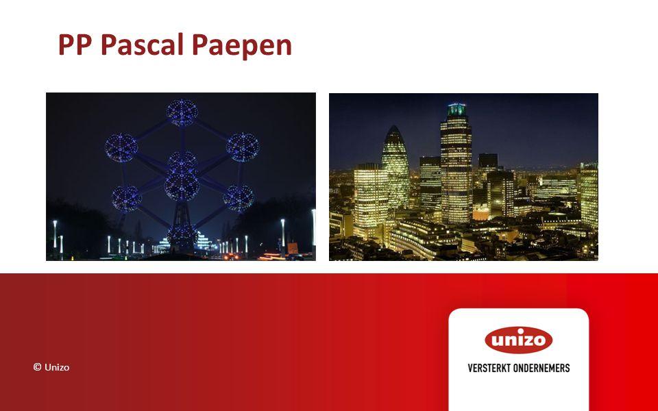 PP Pascal Paepen © Unizo