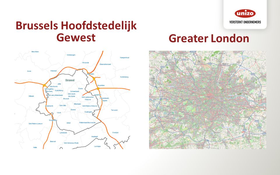 Brussels Hoofdstedelijk Gewest Greater London