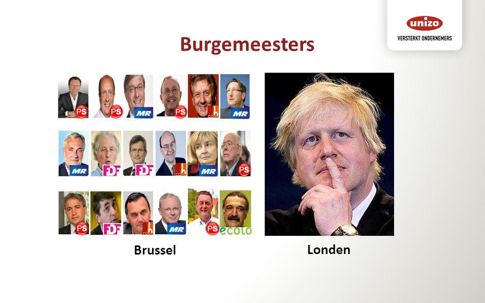 Burgemeesters Londen Brussel