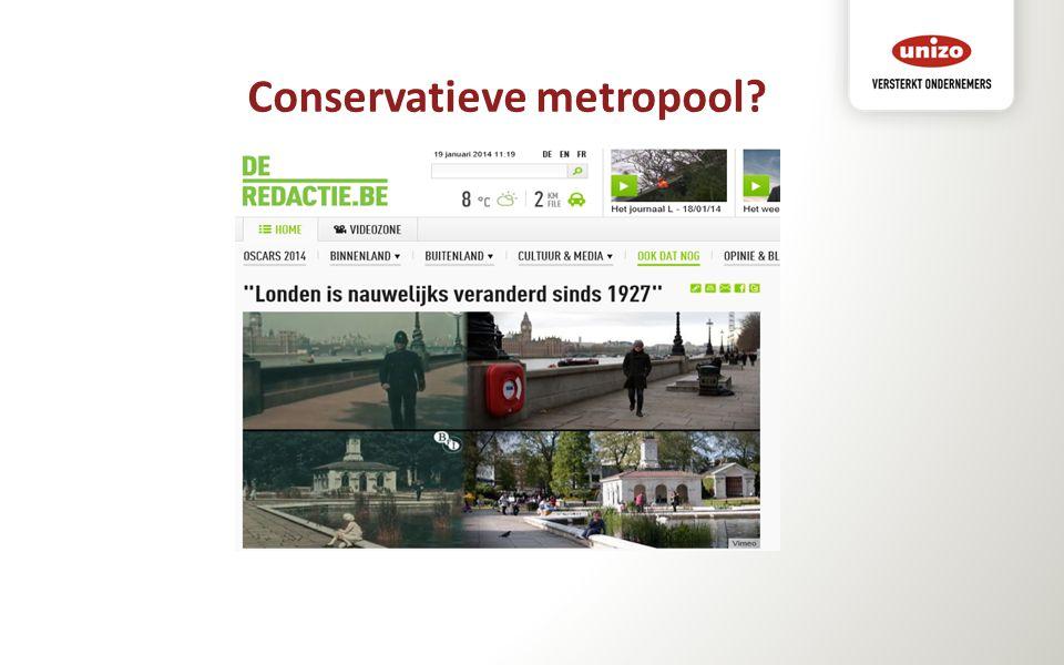 Conservatieve metropool?