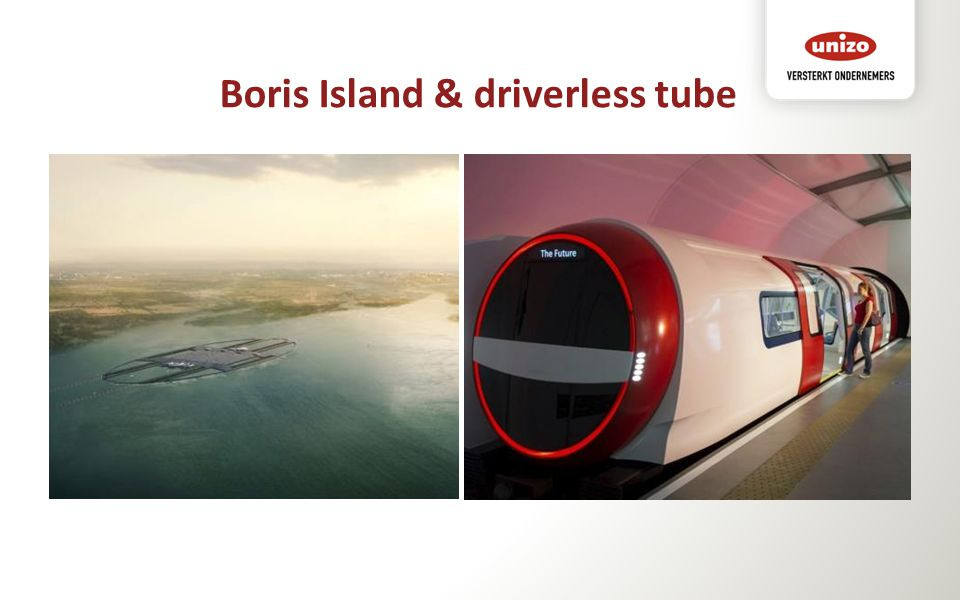 Boris Island & driverless tube