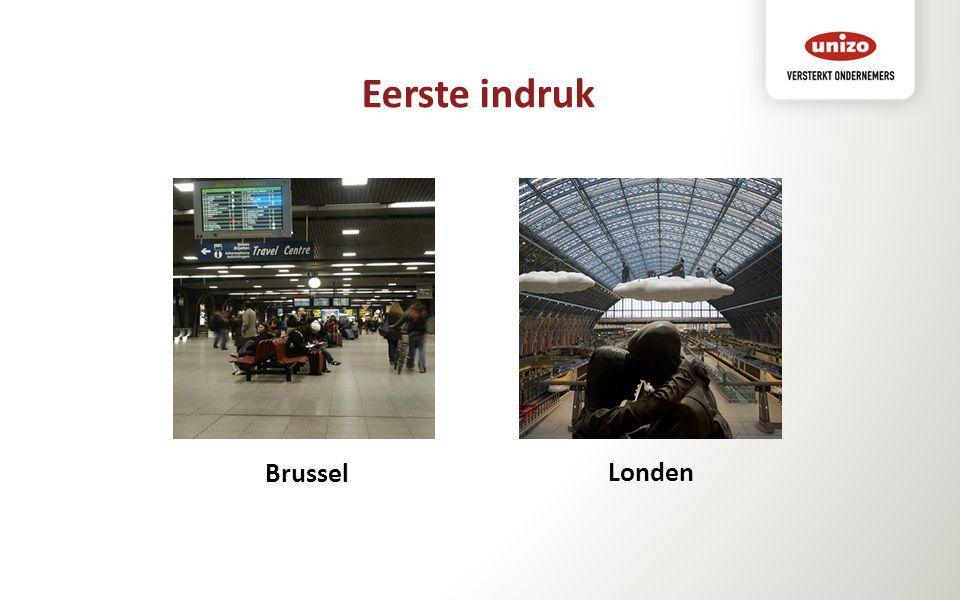 Eerste indruk Londen Brussel
