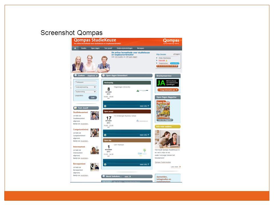 Screenshot Qompas