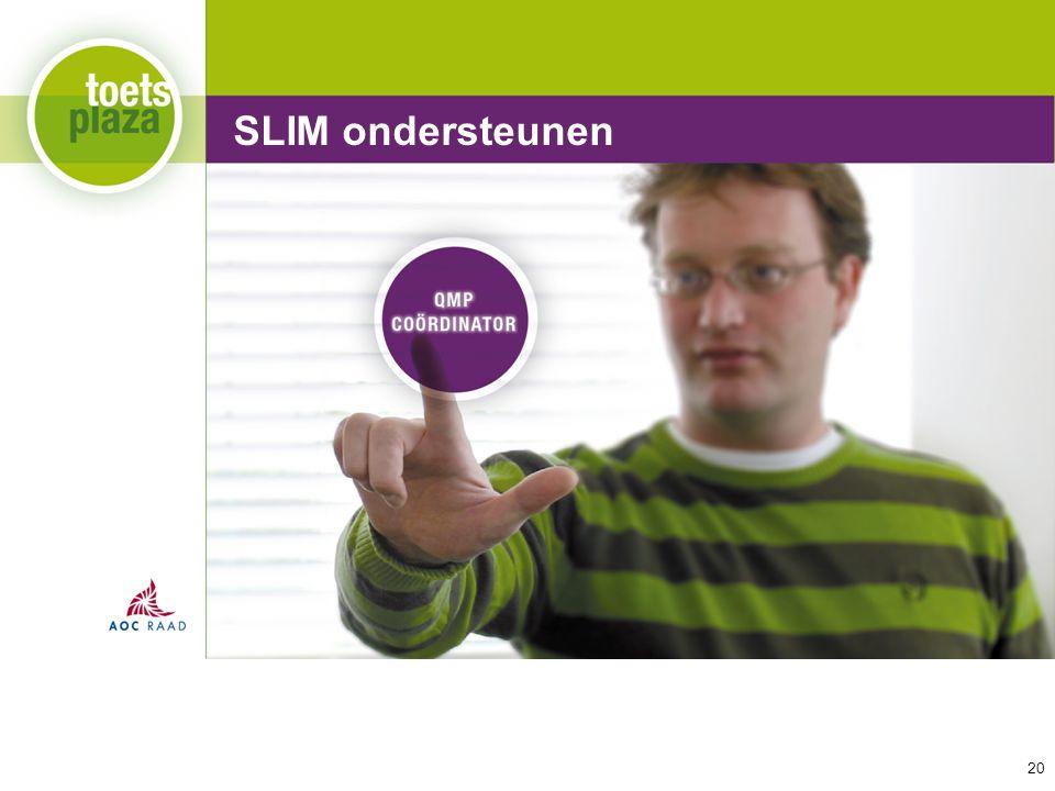 Expertiseteam Toetsenbank SLIM ondersteunen 20