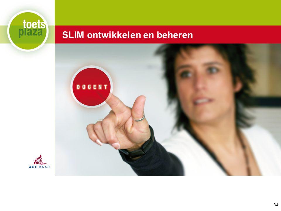 Expertiseteam Toetsenbank SLIM ontwikkelen en beheren 34