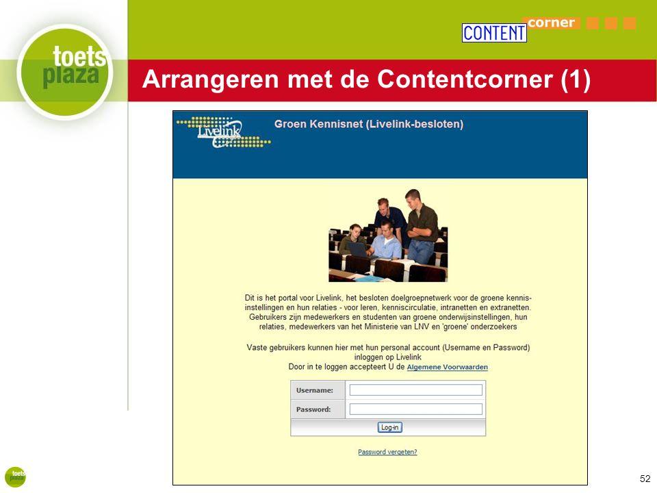Expertiseteam Toetsenbank Arrangeren met de Contentcorner (1) 52