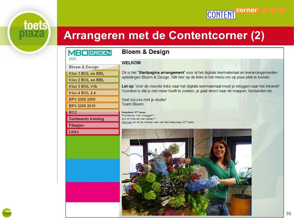 Expertiseteam Toetsenbank Arrangeren met de Contentcorner (2) 55