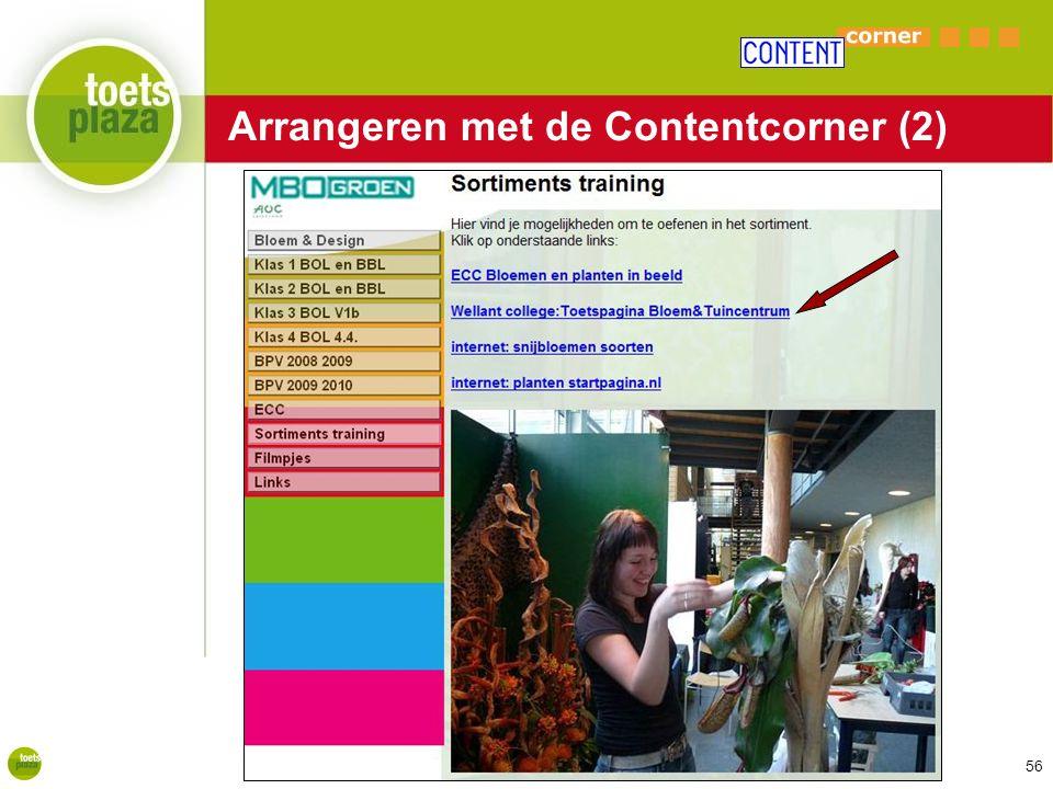 Expertiseteam Toetsenbank Arrangeren met de Contentcorner (2) 56