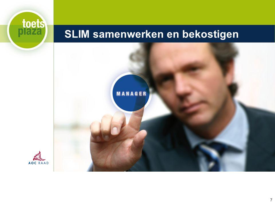 Expertiseteam Toetsenbank SLIM samenwerken en bekostigen 7