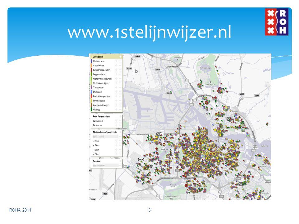 www.1stelijnwijzer.nl ROHA 20116