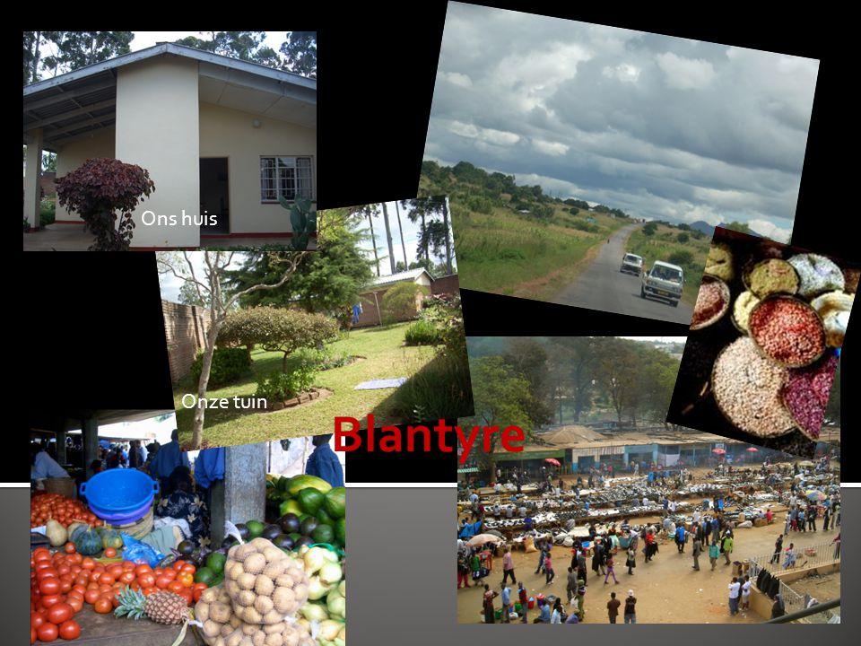 Blantyre Ons huis Onze tuin