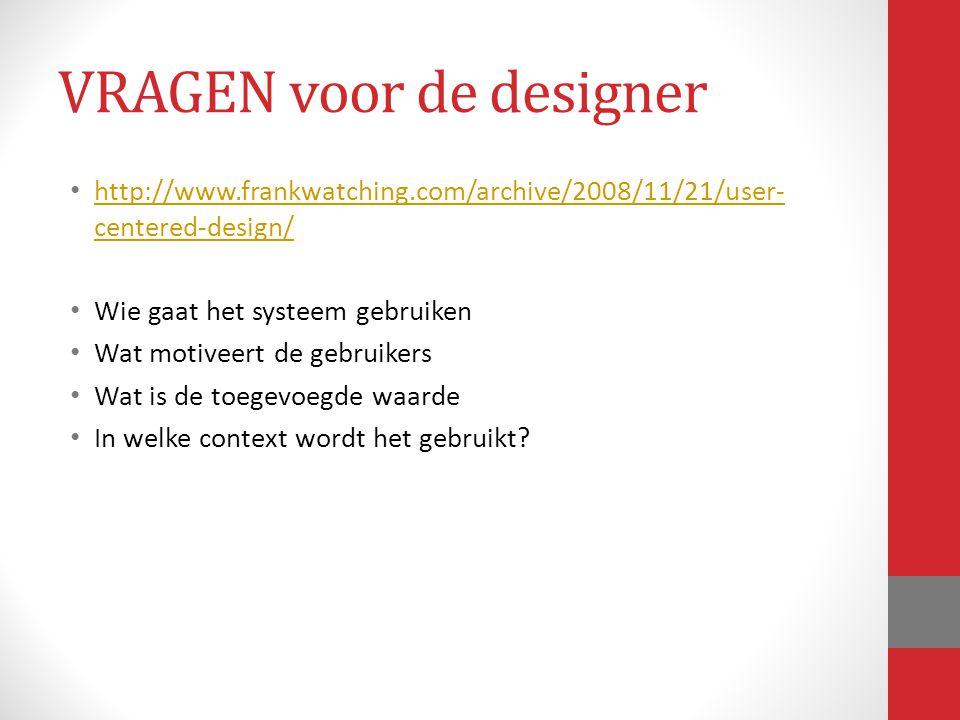 http://www.frankwatching.com/archive/2008/11/21/user- centered-design/ http://www.frankwatching.com/archive/2008/11/21/user- centered-design/ Wie gaat