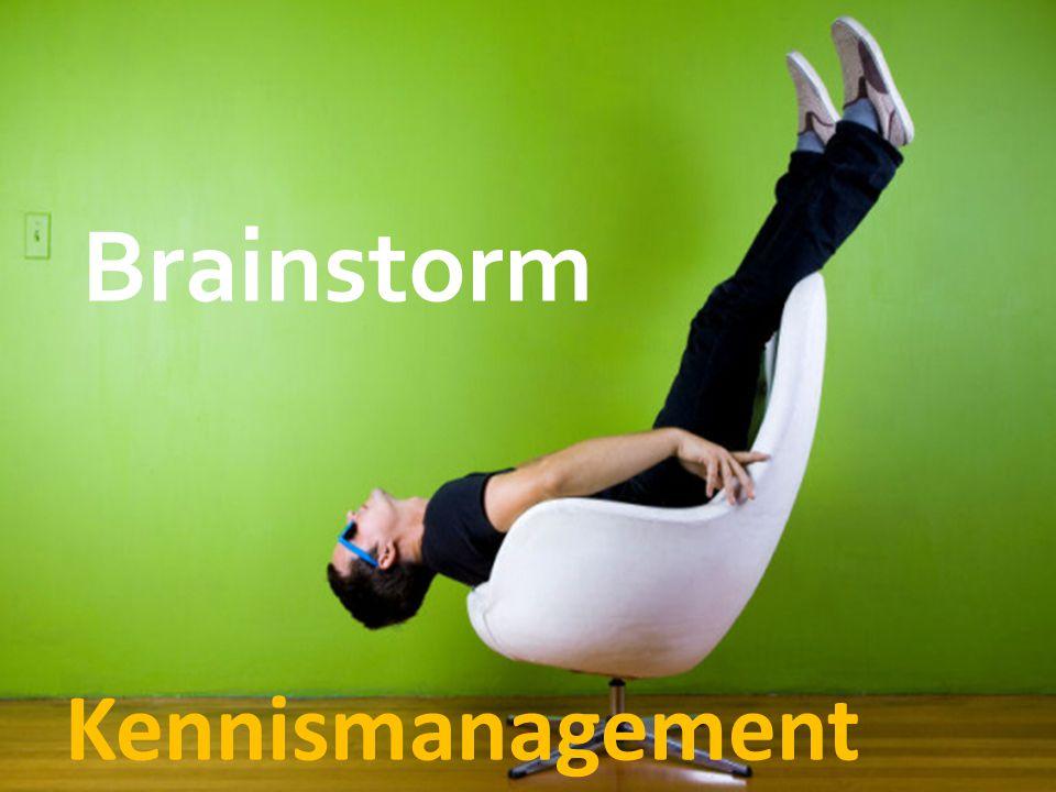 5 Kennismanagement Brainstorm