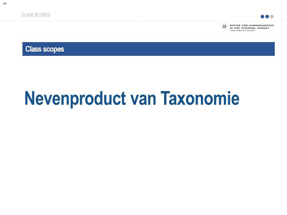 Class scopes Nevenproduct van Taxonomie CLASS SCOPES 34