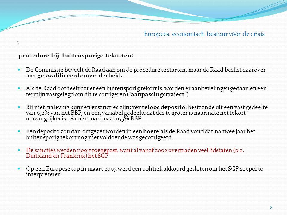 1.Europees Semester opgenomen in verordening juridische kwadratuur van de cirkel.