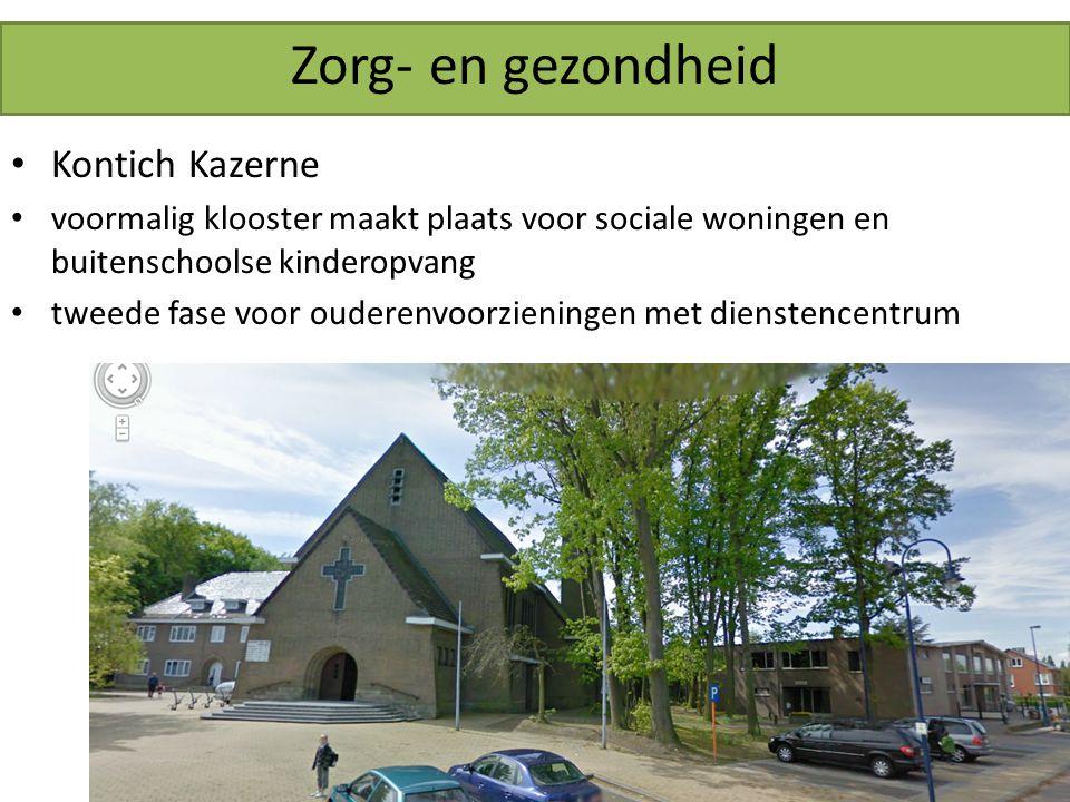Zorg- en gezondheid Kontich Kazerne voormalig klooster maakt plaats voor sociale woningen en buitenschoolse kinderopvang tweede fase voor ouderenvoorzieningen met dienstencentrum